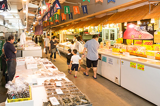 Shimizu Fish Market Kashi no Ichi